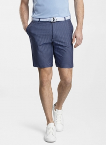 Carrboro Pine Dot Neat Performance Short - Summer Style