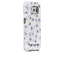 Case-Mate White Leopard Floral Print Tough Case for Samsung Galaxy S6 - Phone Cases