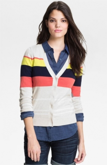 Caslon V Neck Cardigan - Fave Clothing