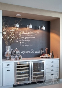 Chalkboard Kitchen - Ideas for the home
