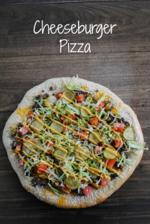 Cheeseburger Pizza - What's for dinner?