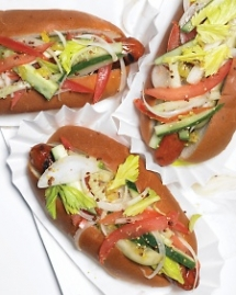 Chicago-Style Hot Dogs - Recipes for the grill
