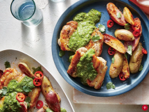 Chimichurri Chicken Thighs With Potatoes - I love to cook