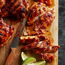 Chipotle-Maple Chicken Thighs - Tasty Grub