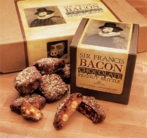 Chocolate Covered Bacon Peanut Brittle - Bacon makes it better