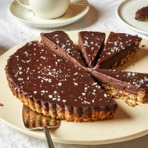 Chocolate Ganache Tart - I love to cook