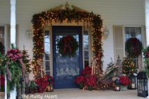 Christmas Front Porch - Christmas Decoration