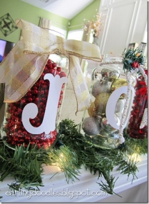 Christmas Jar Decorations - Christmas Decoration