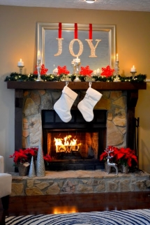 Christmas Mantle - Christmas Decoration