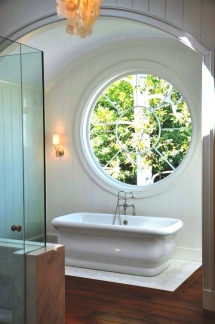 Circular window in bathroom - Great designs for the home