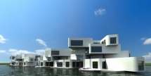 Citadel - the first floating apartment complex - Cool architecture