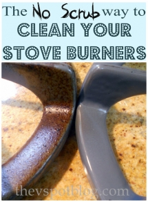 Cleaning stove burners - Tips & Tricks