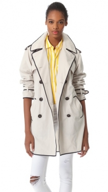 Club Monaco - Rose Trench Coat  - Fave Clothing & Fashion Accessories