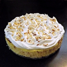 Coconut Cheesecake Recipe - Dessert Recipes