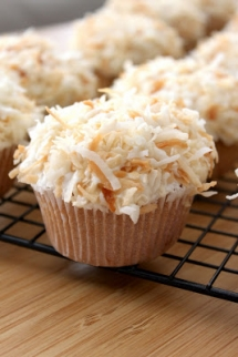 Coconut Cupcakes with Coconut Frosting - Dessert Recipes