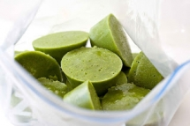 Coconut Green Smoothie Cups - Food & Drink