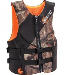 Connelly Mossy Oak Neo Wakeboard Vest 2015 - Mens - Watersports