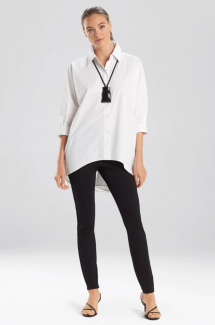 Cotton Poplin Oversized Top - Clothing, Shoes & Accessories