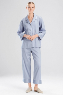 Cotton Sateen Essentials PJ Pants Set - Comfy Clothes
