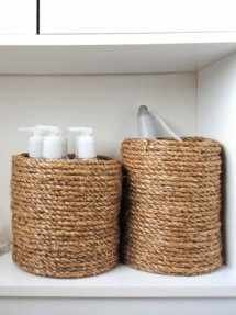 Cover cans with jute rope - DIY Projects