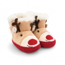 Cozy Reindeer Slipper Boots - For the kids