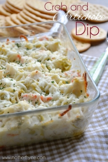 Crab and Artichoke Dip - Cooking Ideas