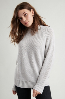 Crew Neck Tunic Sweater - My Fall Style
