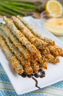 Crispy Baked Asparagus Fries - Easy recipes
