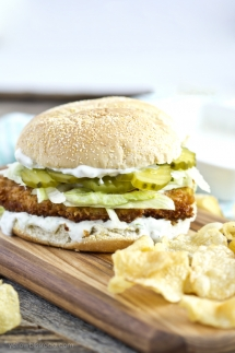 Crispy Dill Chicken Sandwich - Sandwiches