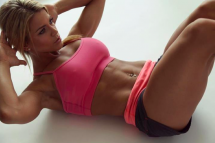Crunches, crunches and more crunches to get great abs - Gotta get those abs!