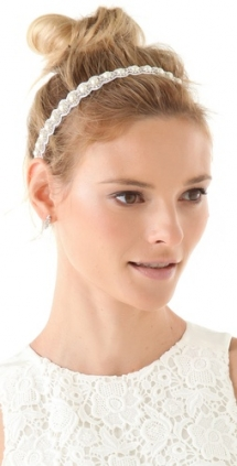 Crystal & Pearl Headband - Fave hairstyles