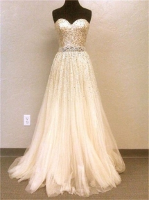 Crystal Wedding Dress - Wedding Ideas