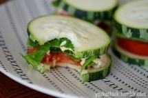Cucumber Sandwich Snacks - Healthy Alternatives