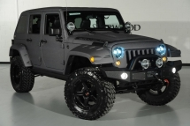 Custom Grey Fastback Jeep Wrangler from Starwood Motors - Jeeps - the best way to get around