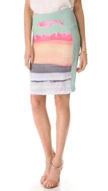 Dagmar Lilla Print Skirt  - Fave Clothing