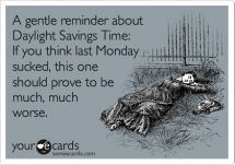 Daylight savings time funny - Now that is funny