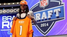 Denver Broncos draft cornerback Bradley Roby - Football