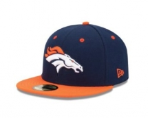 Denver Broncos Two Tone 59Fifty Fitted Cap  - My team