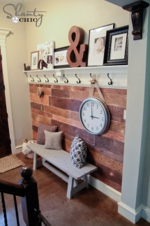 DIY $100 Plank Wall - DIY Projects