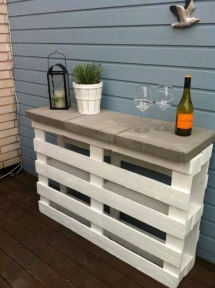 DIY outdoor bar - DIY Projects
