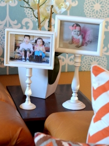 DIY Pedestal Photo Frames - DIY Projects