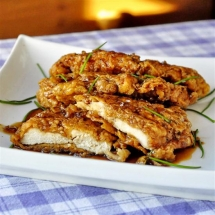 Double Crunch Honey Garlic Chicken Breasts - Recipes