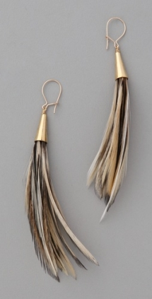 Duster Feather Earrings - My style