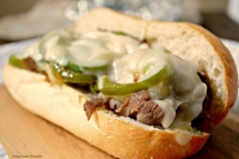 Easy Philly Cheese Steak Sandwich - Sandwiches