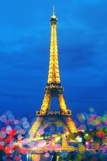 Eiffel Tower in Paris, France - Monuments to Man