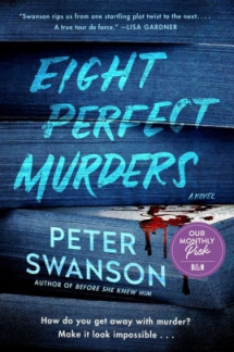 Eight Perfect Murders by Peter Swanson - Novels to Read