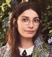 Eleanor Eyeglasses in Lilac Silver - Accessories