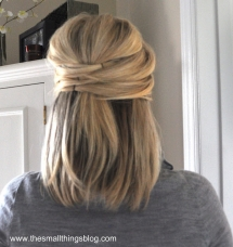 Elegant Half Up  - Fave hairstyles