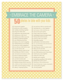 Embrace the Camera - Activities For Kids To Do