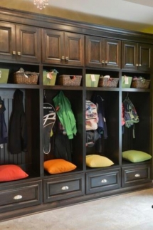 Entranceway cubby organization - For the home